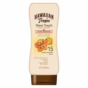 Hawaiian Tropic Sheer Touch Lotion Sunscreen, SPF 15, 8 Ounces as low as $3.79!