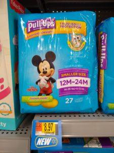 Walmart: Huggies Pull-Ups Only $3.93!