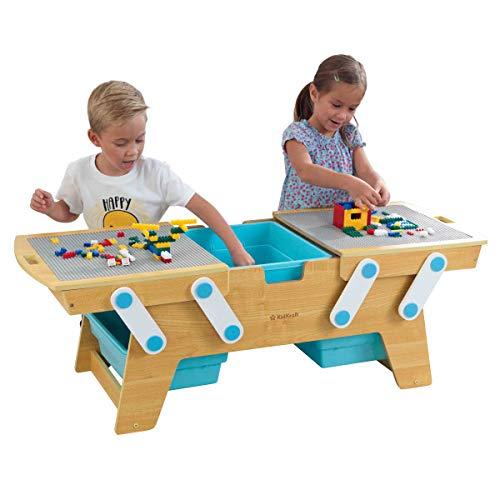 Kidkraft Building Bricks Play N Store Table 77 99