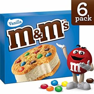 Kroger: M&M's Ice Cream Cookie Sandwiches Only $1.49!