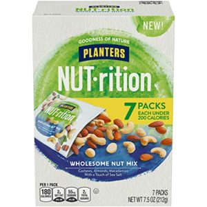 NUTrition Lightly Salted Wholesome Nut, Pack of 7 Only $3.67!