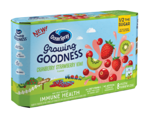 Walmart: Ocean Spray Growing Goodness, 8 ct as low as $0.73!