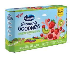Walmart: Ocean Spray Growing Goodness, 8 ct as low as FREE!