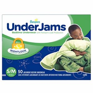 Pampers UnderJams Disposable Bedtime Underwear for Boys, 50 count as low as $12.31 Shipped!!