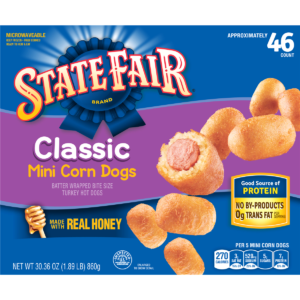 Meijer: State Fair Mini Classic Corn Dogs, 30 oz Only $5.79!