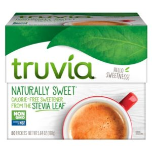 Walmart: Truvia Sweetener Packets, 80 ct Only $1.97!