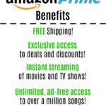 Amazon Prime Benefits and Membership Options (including a FREE trial)