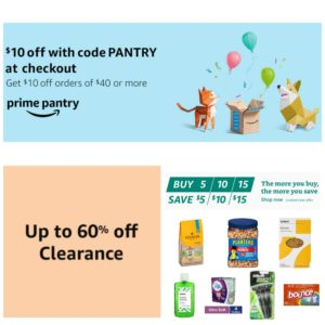 *HOT* Prime Pantry Promotions!!