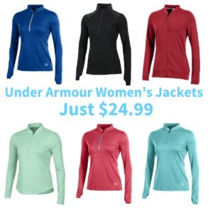 Under Armour Women's Jackets Only $24.99!