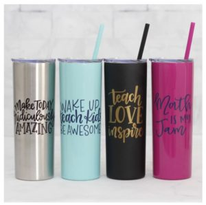Back to School Teacher Tumblers Only $16.99!
