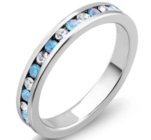 Birthstone Eternity Band Only $3.98 Shipped!