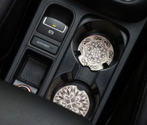Set of 2 Car Coasters Only $4.49! Stocking Stuffer Idea!