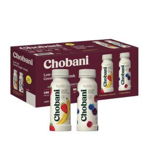 Sam's Club: Chobani Low-Fat Greek Yogurt Drink Variety Pack 12-Pack Only $8.98!