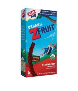 Kroger: Clif Kid ZFruit Organic Strawberry Twisted Fruit Rope Only $0.74!