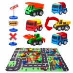 Construction Vehicle Toys with Play Mat Only $7.99!