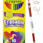 Crayola Erasable Colored Pencils 10 Ct. Pack Only $3.99! (24 Pack - $4.97!)