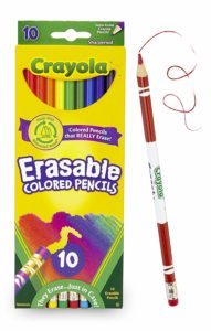 Crayola Erasable Colored Pencils 10 Ct. Pack Only $3.99!