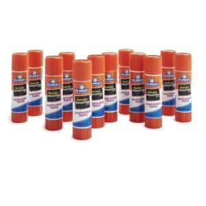Elmer's Washable Disappearing Purple School Glue Stick, 12 Pack Only $3.99!