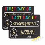 First and Last Day of School Photo Sharing Chalkboard Signs - $6.99!