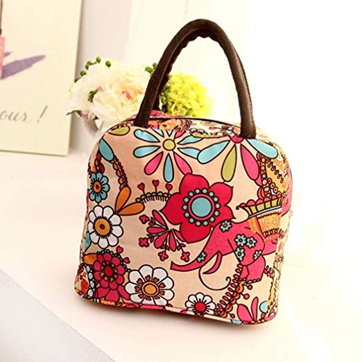 Floral Thermal Lunch Bag