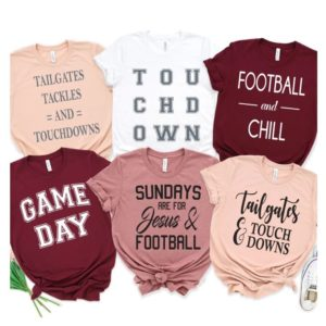 Football Tees – $15.99 Shipped!