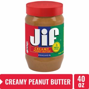 Jif Creamy Peanut Butter, 40 Oz Only $3.75!