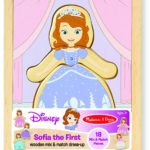 Melissa & Doug Disney Sofia the First Mix and Match Dress-Up Wooden Play Set Only $3.99!