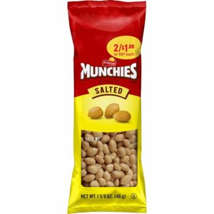 Munchies Salted Peanuts, 1.625 oz Bags (Pack of 36) as low as $7.69!
