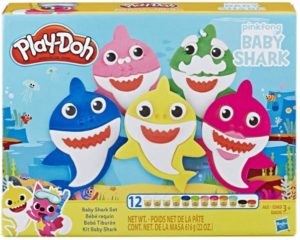 Play-Doh Baby Shark Set with 12 Cans of Dough Only $9.99! Lowest Price!