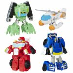 Playskool Heroes Transformers Rescue Bots Griffin Rock Rescue Team - $24.49!