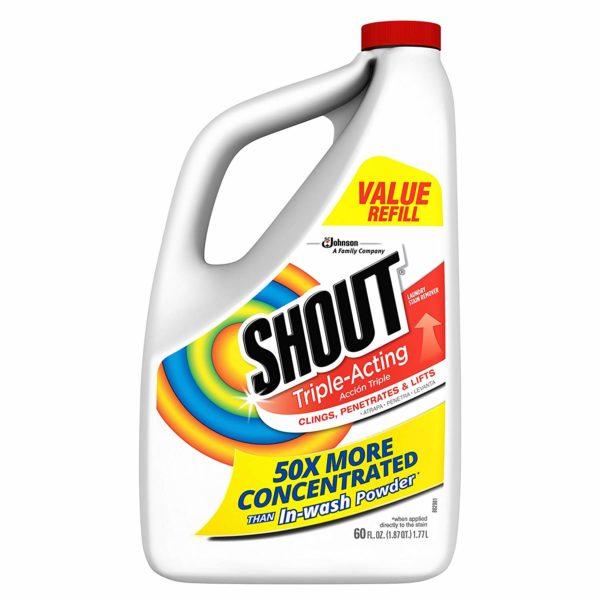 Shout Triple-Acting Liquid Refill Bottle
