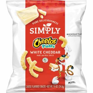 Simply Cheetos Puffs White Cheddar Cheese Flavored Snacks, 10 Count as low as $2.68!