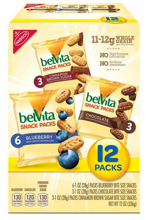 belVita Bites Variety Snack Packs