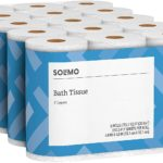 Solimo Toilet Paper 30-Roll Pack Only $19.99!