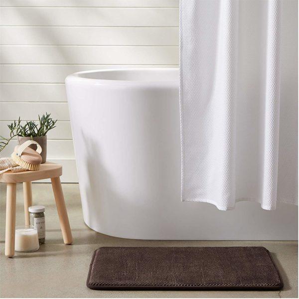 Textured Memory Foam Bath Mat