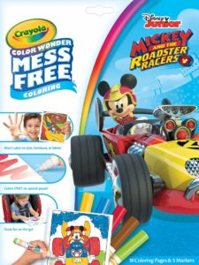 Crayola Color Wonder Mickey and the Roadster Racers Paper and Markers Only $4.00!