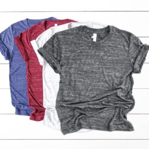 Crew Neck Marble Tees Only $9.99!