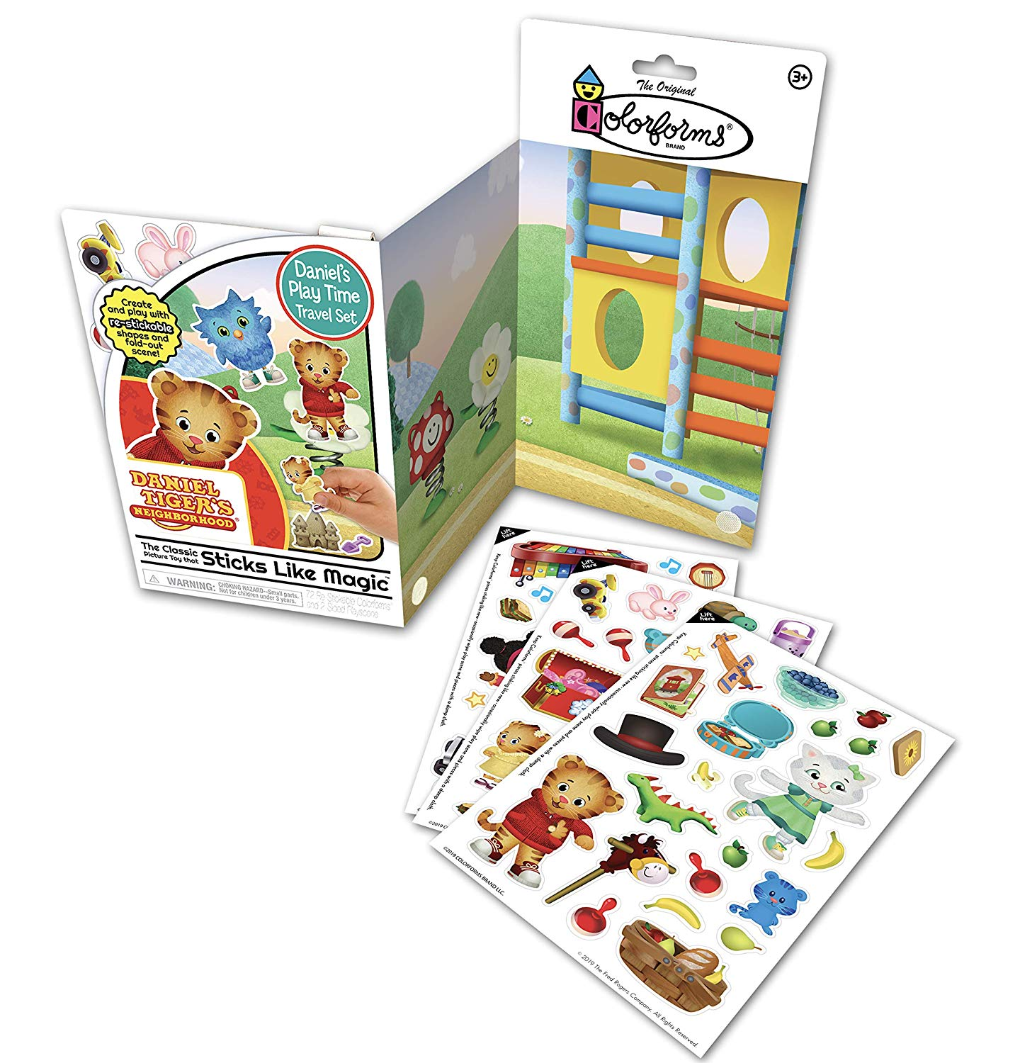 Daniel Tiger Colorforms Travel Set Only $4.99!