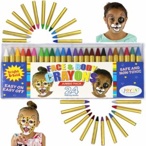 Face and Body Crayons Jumbo Pack, 24 count Only $5.79!