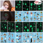 Glow in Dark Halloween Temporary Tattoos 137 Ct. Only $5.99!