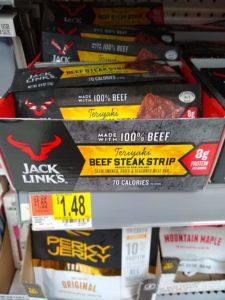 Walmart: Jack Links Beef Steak Strip Bars Only $0.48!