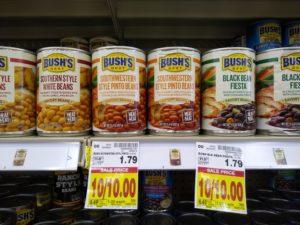 FREE Bush's Savory Beans at Kroger!