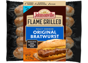 Meijer: Johnsonville Flame Grilled Sausage or Bratwurst Only $2.91!