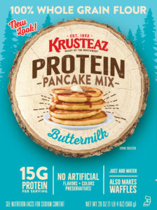 FREE Krusteaz Buttermilk Protein Pancake and Waffle Mix at Kroger!