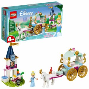 LEGO Disney Cinderella's Carriage Ride Building Kit – $14.99 – Best Price!