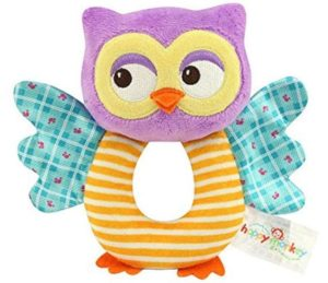 Owl Soft Rattle Toy Only $4.99!