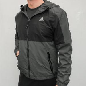 Reebok Men's Windbreaker Jacket with Fleece Lining Only $30!