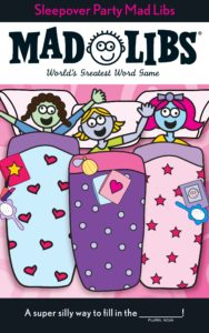 Sleepover Party Mad Libs Only $1.93!