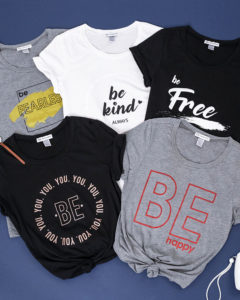 Be Series Graphic Tees Only $16.95 Shipped!