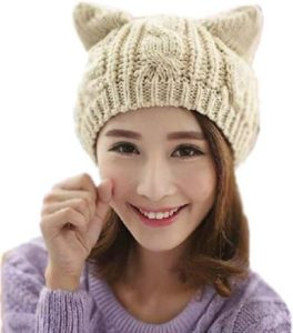 Adorable Cat Beanie Only $8.55!